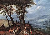 Jan the elder Brueghel Going to the Market painting